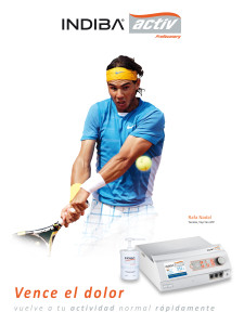 Prevención y Tratamiento en el Deporte, Rafa Nadal Tenis