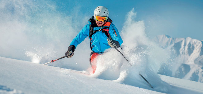 deportes de nieve - ski