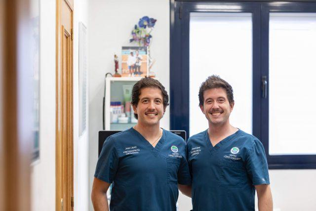 David y Jose Clínica López Corcuera