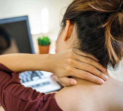 Hernia y dolor Cervical