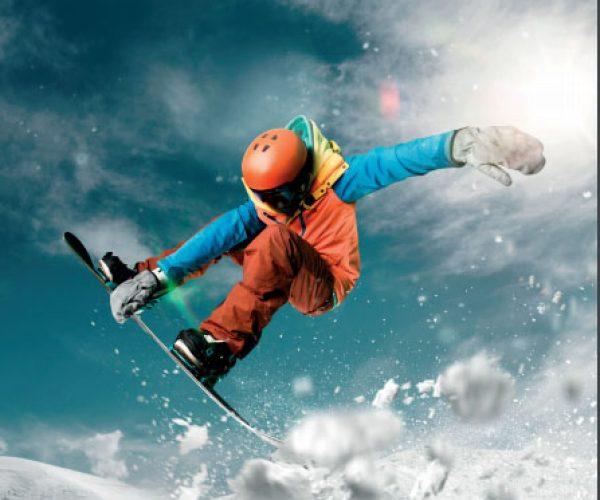 deporte en la nieve - snowboard